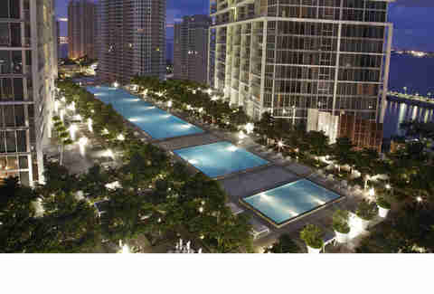 The Viceroy Miami pool