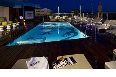 The DNV Rooftop pool