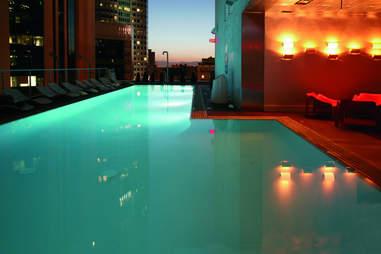 The Sandard, Downtown LA pool