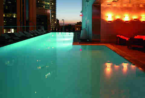The Sandard, Downtown LA pool