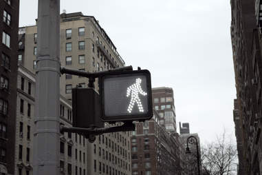 How to walk in NYC