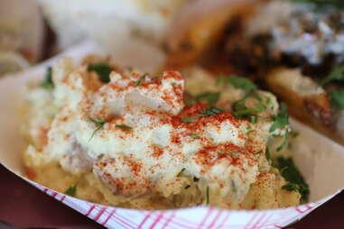 Potato salad at 4505 BBQ