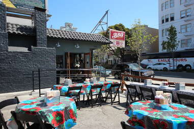 Outdoor Patio at 4505 BBQ