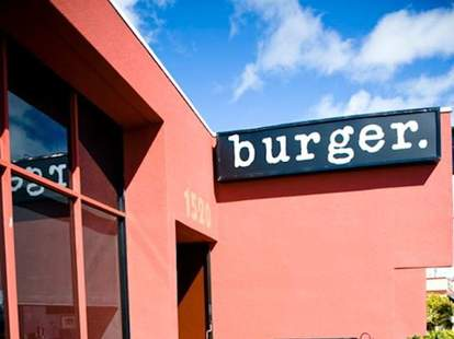 burger. SF