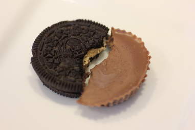 Reese's and Oreo cookie