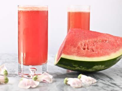 Watermelon beer