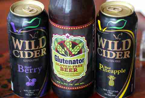 Glutenator beer at Blooming Beets