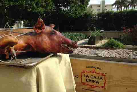 Caja China at EDGE Steak and Bar Miami