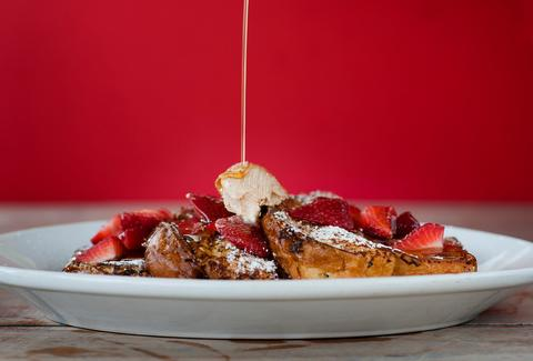 French toast at Morgans Miami