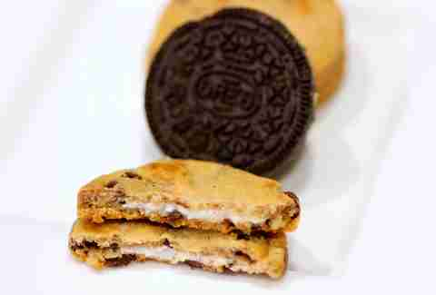 Chips Ahoy Oreo creme filled cookie