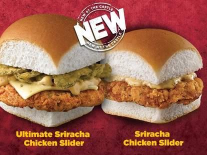 White Castle Sriracha Chicken Sliders