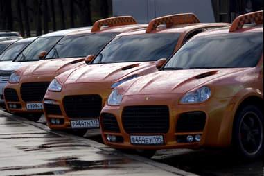 porsche taxis