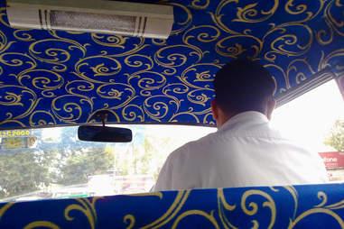 mumbai taxi interior