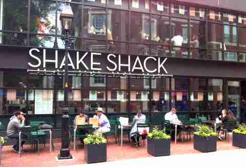 Shake Shack Harvard Square Newest patios BOS