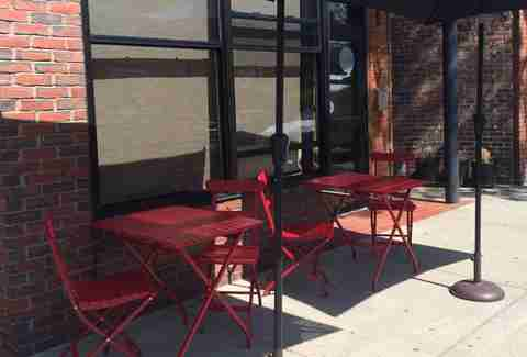 Spoke Wine Bar Newest patios BOS