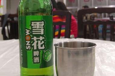 china snow beer