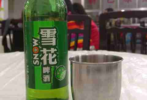 china snow beer