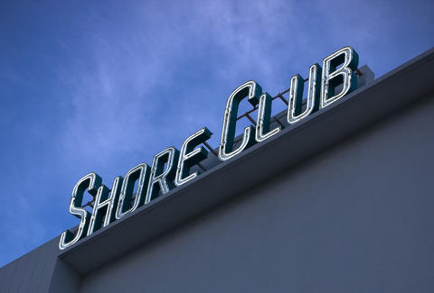 shore club sign