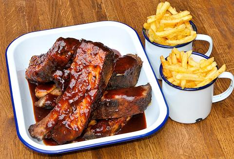 Porky's BBQ London