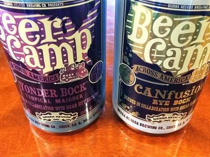 Sierra Nevada Beer Camp cans