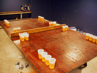 dartmouth beer pong
