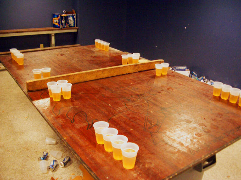 dartmouth beer pong