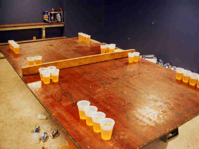 Beer Pong A History Of Beirut Americas Fun Drinking Game Thrillist
