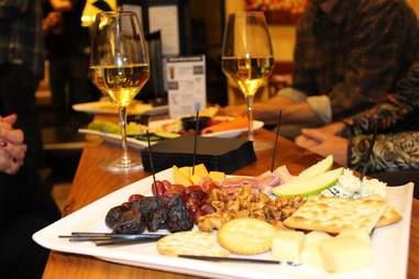 Cinepolis wine and snacks