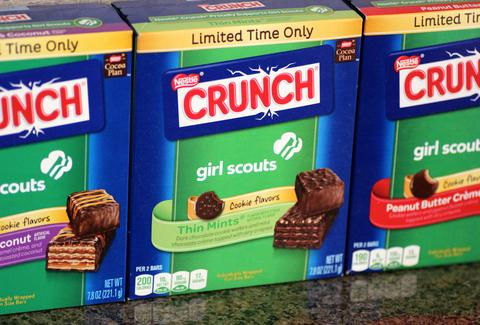 Nestlé Crunch Girl Scout Candy Bars