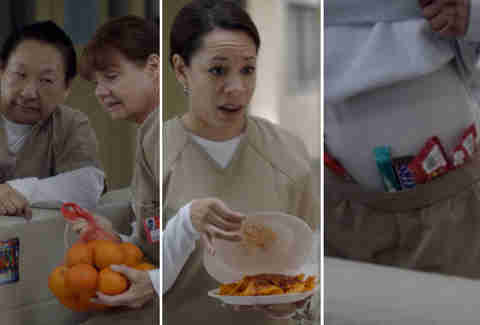Orange Is the New Black wake food