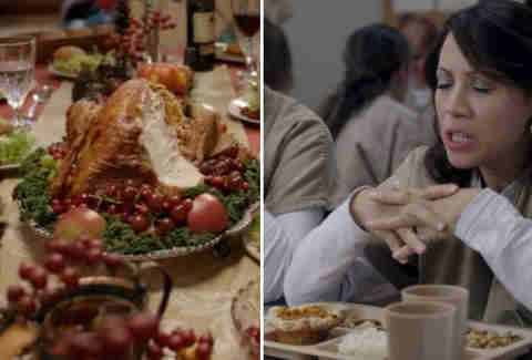 Orange Is the New Black Thanksgiving