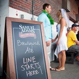 Sam Adams Brewlywed Ale line