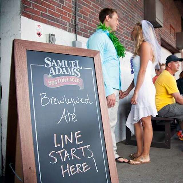 Sam Adams Brewlywed Ale line
