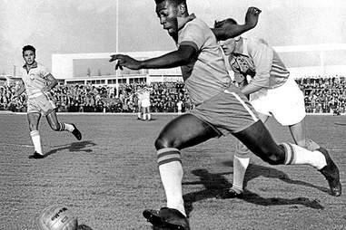 Pele soccer 1960