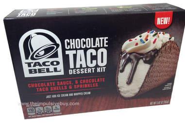 chocolate taco bell kit