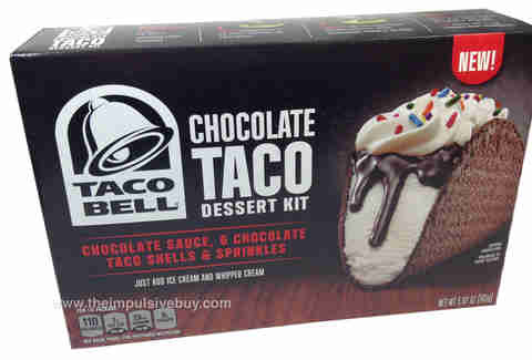 chocolate taco bell kit