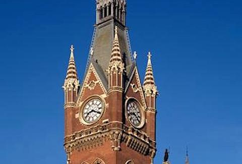 St. Pancras Clock Tower LONDON
