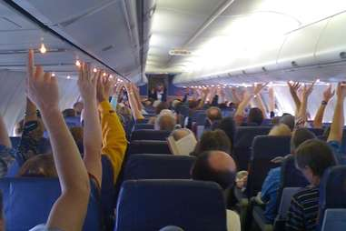 Flight Attendant Call Buttons
