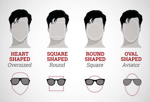8b9a7a1006 Sunglasses for Face Shape - The Perfect Shades for Your Face are Right Here  - Thrillist