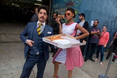 PIzza party nyc