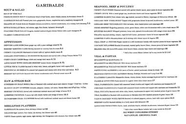 two sided menu