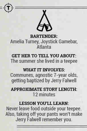 Bartender Stories
