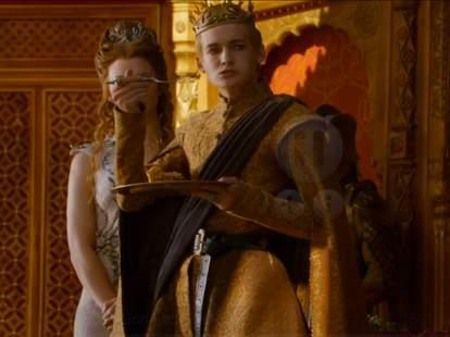joffrey eating cake
