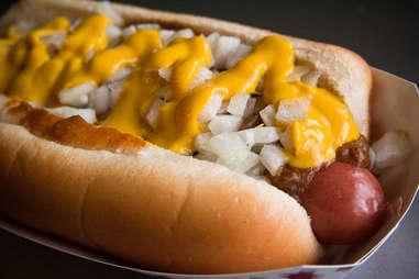 michigan detroit coney hot dog