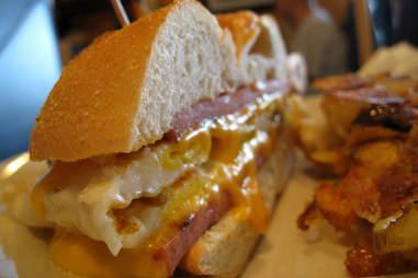 new jersey taylor ham sandwich