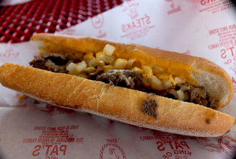 pennsylvania cheesesteak