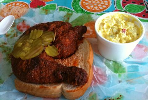 tennessee nashville hot chicken