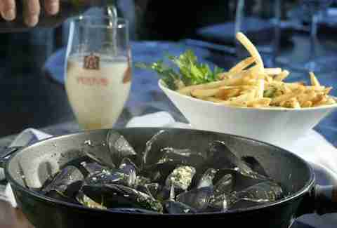Wild Mushroom Mussels Best Bacon Uses DC