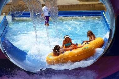 water raft ride
