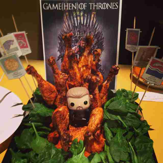 Game(Hen) of Thrones
